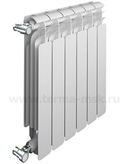 Радиатор биметаллический SIRA ALI Metal 350 6 секций - фото 13260