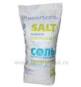 Таблетированная соль SALT 25 МОЗЫРЬСОЛЬ, 25 кг