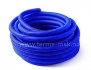 Кожух гофрированный защитный 40 мм синий