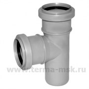 Тройник канализационный 50х40х90