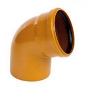 Отвод канализационный наружный 110х67