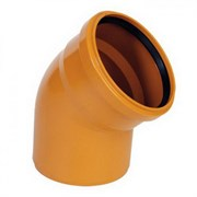 Отвод канализационный наружный 160х45