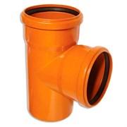 Тройник канализационный наружный 110х110х90