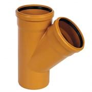 Тройник канализационный наружный 200х110х45