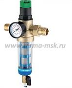 Фильтр промывной с системой очистки и регулятором давления ProFactor FS 877
