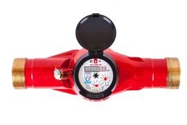 Счетчик горячей воды общедомовой ЭКО НОМ-40Г-300
