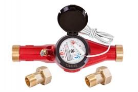 Счетчик горячей воды общедомовой ЭКО НОМ-25Г-ДГ-260 (импульсный выход)
