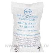 Таблетированная соль ROCK SALT 25 ТЫРЕТСКИЙ СОЛЕРУДНИК, 25 кг