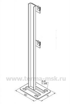 Кронштейн напольный для радиатора Термал 500 - фото 10809