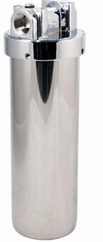 Магистральный фильтр из нержавеющей стали АБФ-НЕРЖ-34 АКВАБРАЙТ - фото 11860