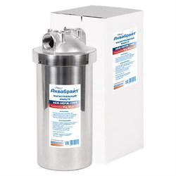 Магистральный фильтр для воды АБФ-НЕРЖ-10ББ АКВАБРАЙТ - фото 11867