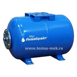 Гидроаккумулятор горизонтальный АКВАБРАЙТ ГМ-24 Г - фото 11953