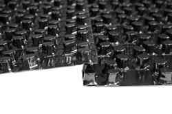 Плита из полистирола с фиксаторами Energofloor Pipelock Solo (0,77 м2) - фото 13419