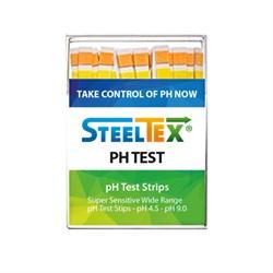 Индикаторные полоски STEELTEX PH-TEST (упак. 100 шт.) - фото 13502