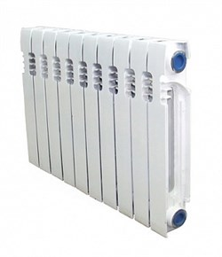 Чугунный радиатор STI НОВА 300 8 секций - фото 13691