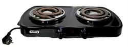 Плита настольная электрическая Мечта 212т черная - фото 13994