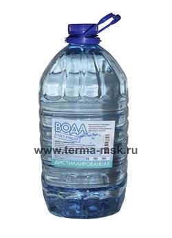 Вода дистиллированная 5 литров - фото 32409
