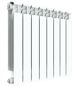 Радиатор биметаллический RIFAR ALP 500 8 секций - фото 33355