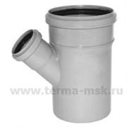 Тройник канализационный 110х50х45