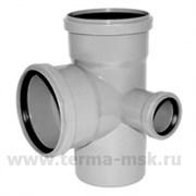 Крестовина канализационная 110х110х50х90 2-х плоскостная правая