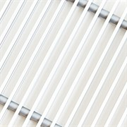 Решетка декоративная Techno РРА 300-700 серебро