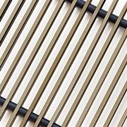 Решетка декоративная Techno РРА 150-1400 бронза