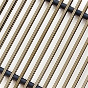 Решетка декоративная Techno РРА 150-1600 бронза