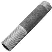 Сгон стальной оцинкованный ДУ 15 ГОСТ 8969-75
