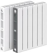 Биметаллический радиатор Rifar SUPReMO 350, 4 секции
