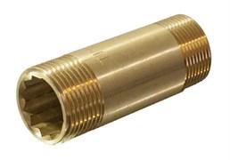 Бочонок латунный ДУ15 х 80 мм