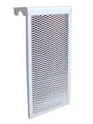 Экран для чугунного радиатора белый, 3 секции