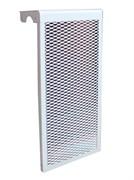 Экран для чугунного радиатора белый, 5 секций