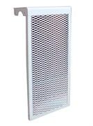 Экран для чугунного радиатора белый, 7 секций
