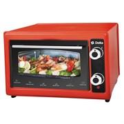Мини-печь DELTA D-022 красная