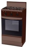 Газовая плита ЛАДА GP 5203 Br коричневая