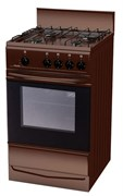 Газовая плита ЛАДА PR 14.120-03 Br коричневая