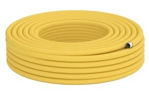 Труба гофрированная из нержавеющей стали Stahlmann IWS 15А желтая (отрезок 10 м)