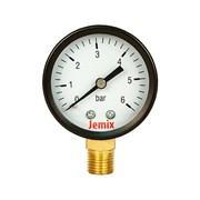 Манометр радиальный Jemix XPS-R, 6 bar диаметр 50 мм