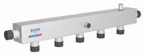Коллектор распределительный для отопления RISPA К 60-6В