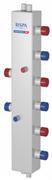 Коллектор модульный вертикальный RISPA КМВ 60-3В