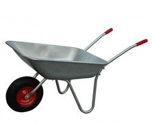 Тачка садовая одноколесная БТМ WB5206, 60 л (130 кг)