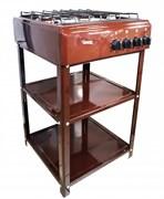 Газовая плита Дачница 1489 BR коричневая