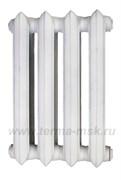 Чугунный радиатор МС-140 500 белый грунт, 4 секции