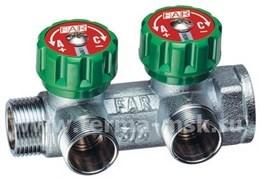 Коллектор регулирующий FAR 1х3/4 - 2 выхода FK 3821 134ТР