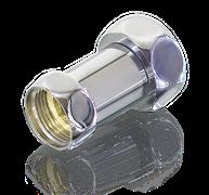 """Соединитель для полотенцесушителя прямой 1""""х1/2"""" ВР-ВР TIM K5-SFF042 (пара)"""