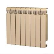Радиатор биметаллический Rifar MONOLIT 500 АЙВОРИ (RAL 1013) 8 секций