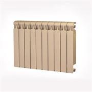 Радиатор биметаллический Rifar MONOLIT 500 АЙВОРИ (RAL 1013) 10 секций