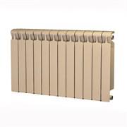 Радиатор биметаллический Rifar MONOLIT 500 АЙВОРИ (RAL 1013) 12 секций