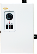 Котел электрический УМТ САНГАЙ ЭВПМ-4,8 кВт (220/380 В), механический термостат / ТЭН нерж