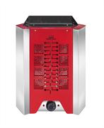 Электрокаменка УМТ Гамма ЭКМ 3,6 кВт (красная) с пультом управления